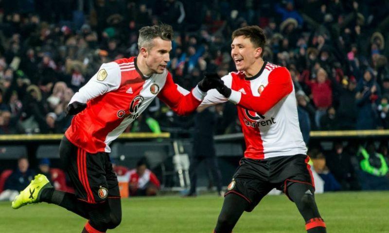 Afbeelding: Van Persie vol lof over 'topspeler' van Feyenoord: 'Hij kan dat als geen ander'
