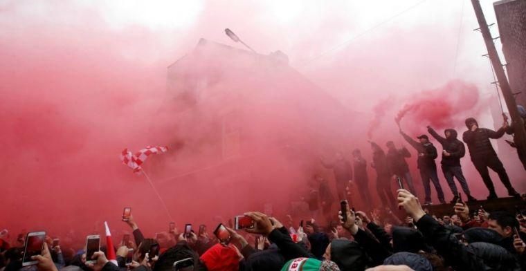 Smet op weergaloze voetbalavond: rellen rond Anfield, zelfs hamer gespot