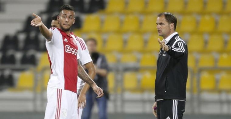 'Te vroeg' vertrokken bij Ajax: 'Veel gebeurd man. Vaak ruzies met De Boer'