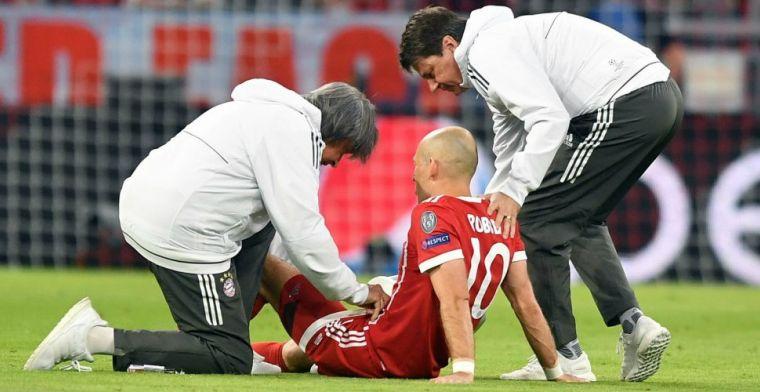 Update: Robben houdt interviews af, maar spierblessure lijkt mee te vallen