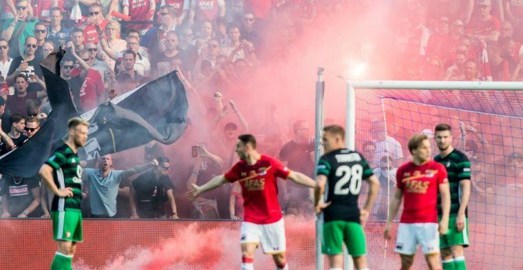 'Gezeik' na finale: Waarom zeggen ze niets over die rookbommen van Feyenoorders?
