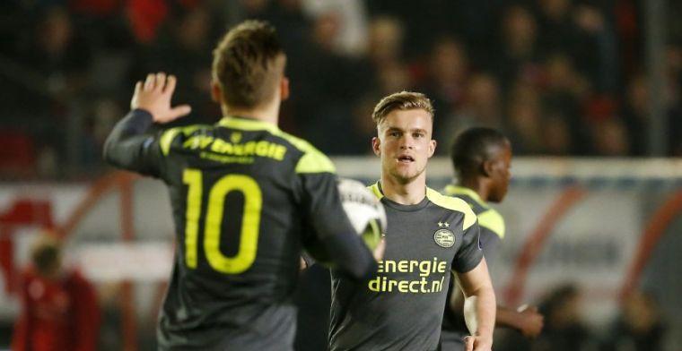 PSV neemt afscheid van jonge spits: 'Er is al door meerdere clubs geïnformeerd'