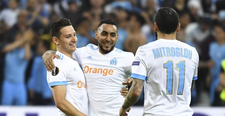 Marseille slaat twee keer toe en staat met een been in finale Europa League