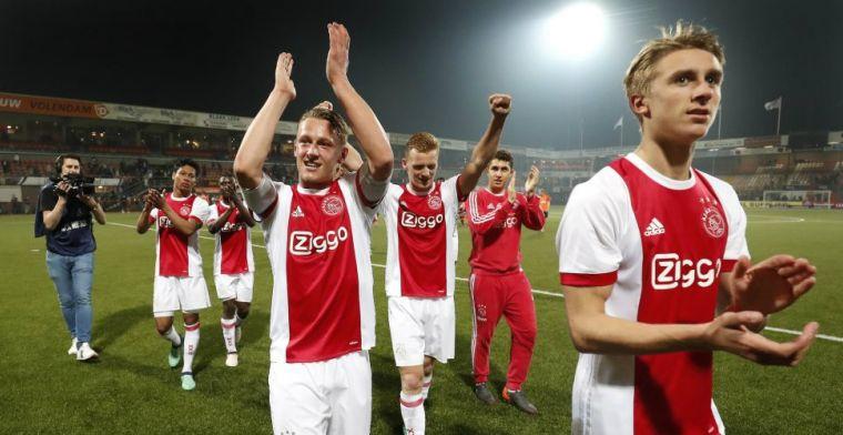 'Ajax moet altijd voor de titel spelen, dus dat zijn we wel gewend. Wij zijn Ajax'