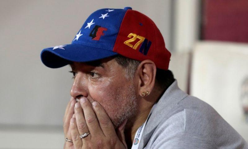 Afbeelding: Bizar nieuws: Maradona en club hebben spijt, Argentijn drie dagen na ontslag terug
