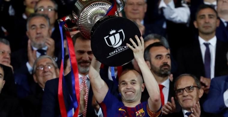 'Chinese club biedt Iniesta megasalaris plus investering van 36 miljoen in wijn'