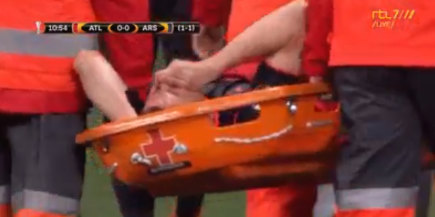 Groot drama voor Koscielny: WK in gevaar door blessure tegen Atlético