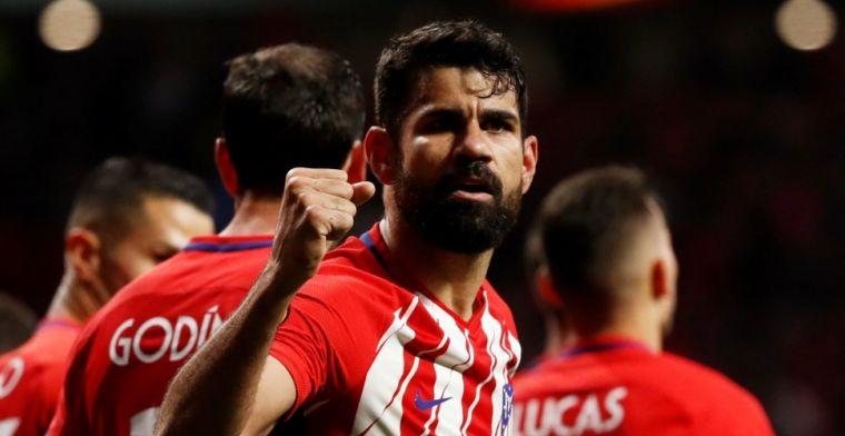 Geen afscheid tijdens EL-finale voor Wenger: Costa schiet Atletico naar eindstrijd