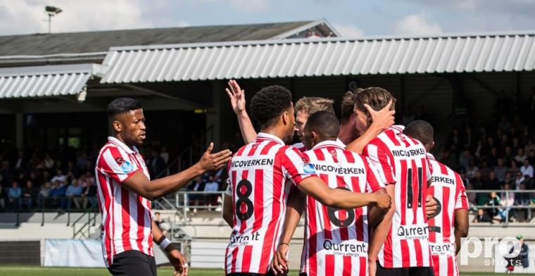 Mühren redt Sparta bij FC Dordrecht na bizar eigen doelpunt van Spierings