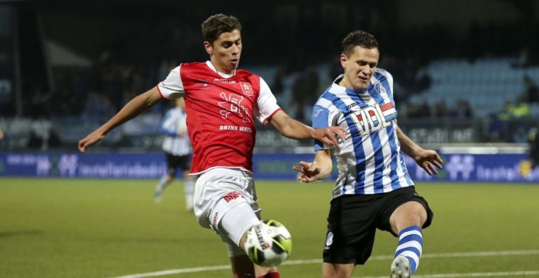 'Verdediger van MVV kan naar de Eredivisie; acht clubs hebben interesse'