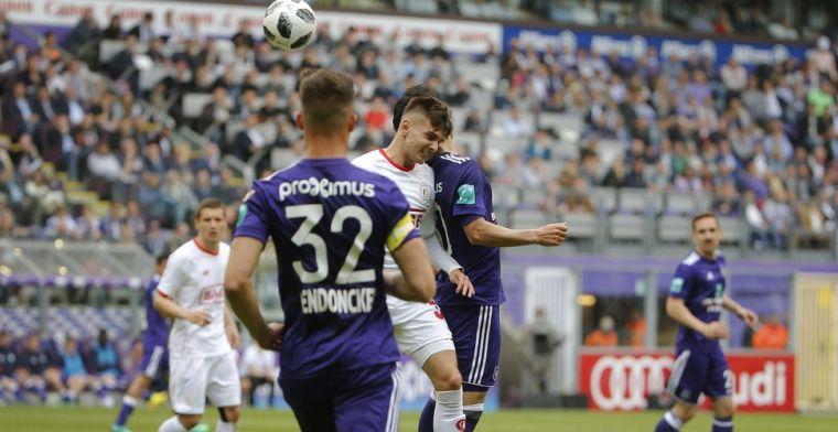 Onterechte klaagzang van Anderlecht: Het was helemaal geen strafschop