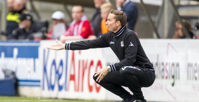 'Confronterend' seizoen voor Lijnders: 'Werden na vijf wedstrijden al opgewacht'