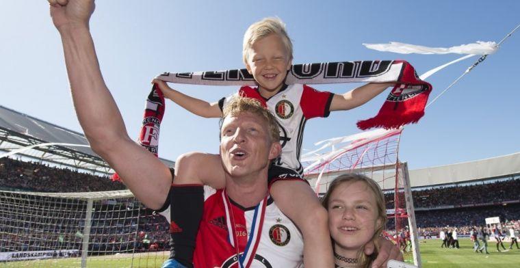 Kuyt over 'te zware' Feyenoord-teamgenoot: 'Zei hij: ik ben een emotionele eter'
