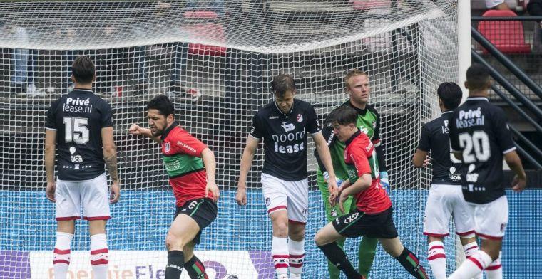 FC Emmen houdt stand tijdens spektakelstuk in Nijmegen en plaatst zich voor finale