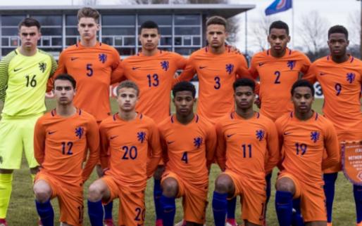 Afbeelding: Oranje O17 plaatst zich voor halve finale EK na bizarre penaltyserie