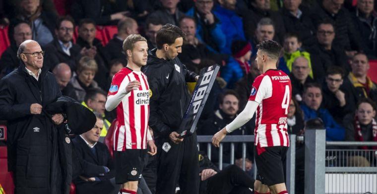 Slechts zeven speelminuten voor PSV: 'Als ik eerlijk ben had ik op meer gehoopt'