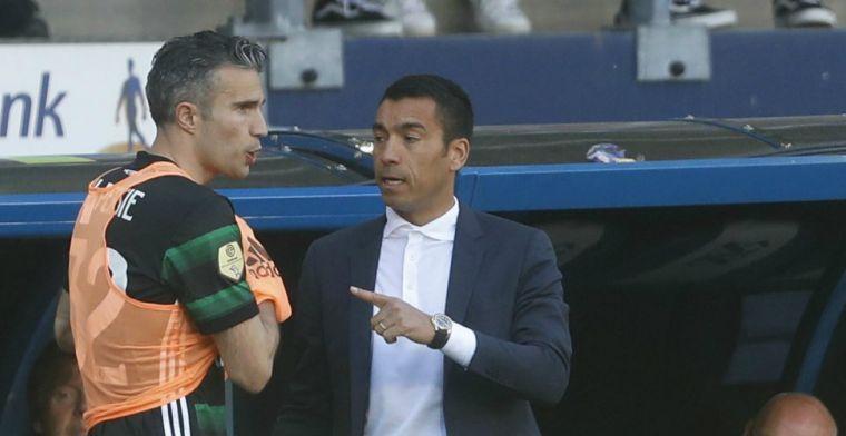 'Van Persie ontvouwt maandag sportieve plannen en hakt knoop door bij Feyenoord'