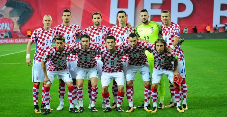 AA Gent, Standard en Club Brugge kleuren WK-selectie van Kroatië