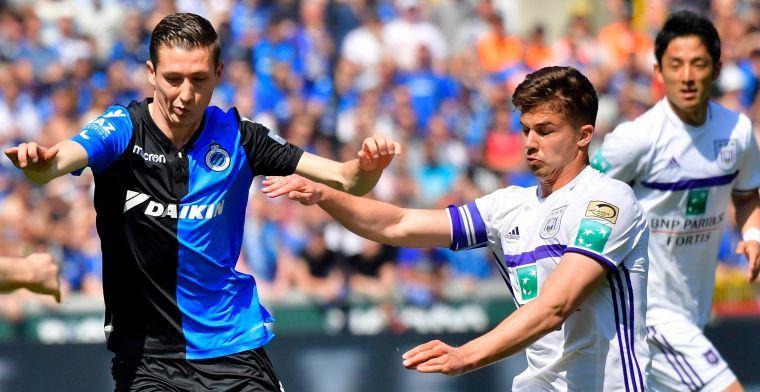 Ook hoofdprijs is voor Club Brugge, Standard-speler op de derde plaats