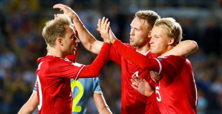 Denemarken kiest voor Ajax-duo en Feyenoorder in voorlopige WK-selectie