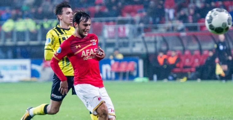 Nieuweling eist positie op bij FC Utrecht: Duidelijk dat ik middenvelder ben