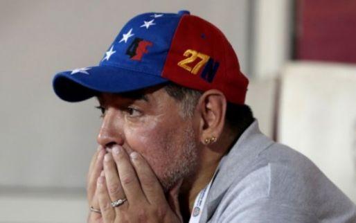 Afbeelding: Let goed op: Maradona wordt voorzitter van Wit-Russische club met ... Ogunjimi
