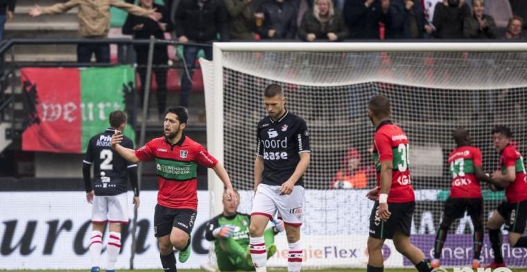 'Ik wil in de Eredivisie voetballen. Waar dat gebeurt, dat zie ik dan wel'