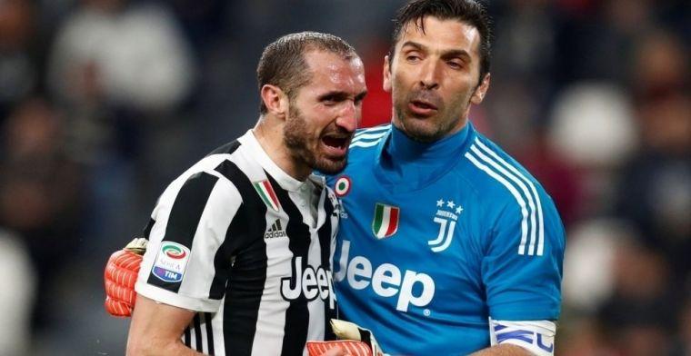 Chiellini incendia las relaciones entre Juventus y Nápoles
