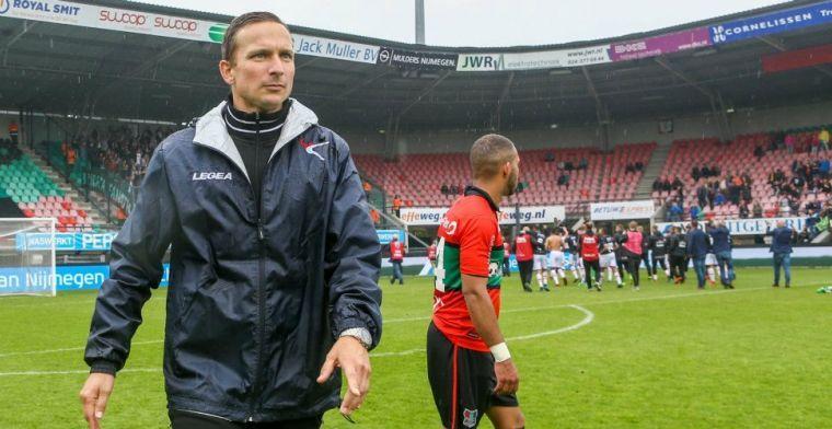 'Leegloop dreigt voor geplaagd NEC: drie keepers en twaalf veldspelers'