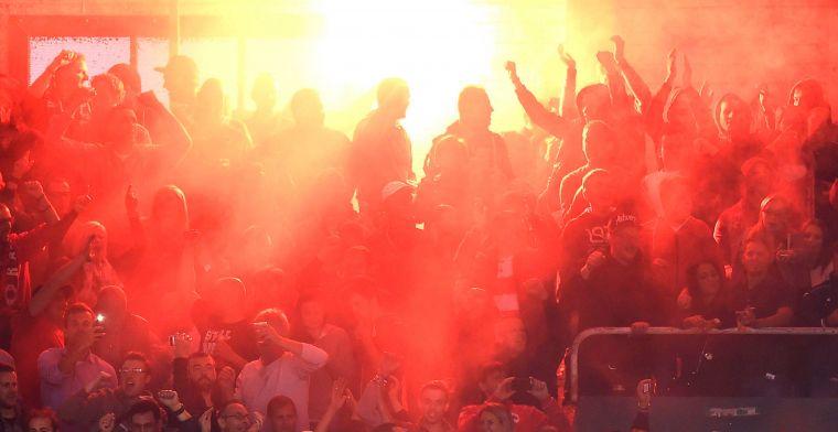 'Illegale bom bij Antwerp is de druppel: KBVB wil vuurwerk uit stadions bannen'