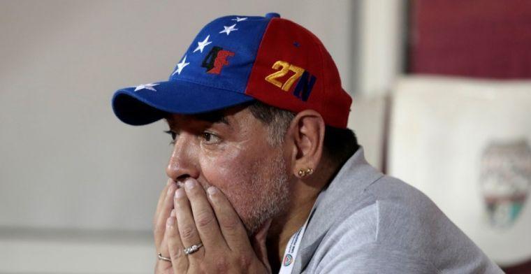 Let goed op: Maradona wordt voorzitter van Wit-Russische club met ... Ogunjimi