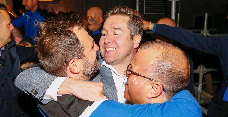 'Het succes van Brugge heeft vele vaders maar de grootste ruiker is voor hem'