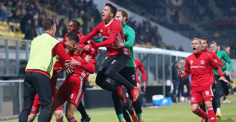 Almere City staat in finale: Ik ben eigenlijk niet met de Eredivisie bezig