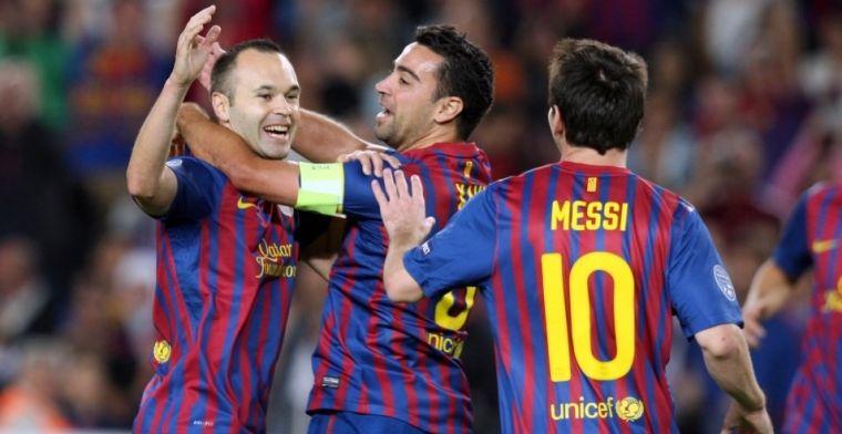 El último regalo de Iniesta a Messi con dedicatoria añadida