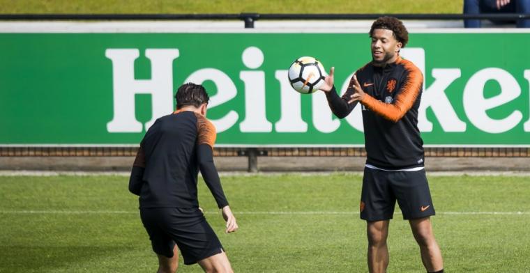 Feyenoord-vertrek niet aan de orde: Ik zit nu ook bij het Nederlands elftal