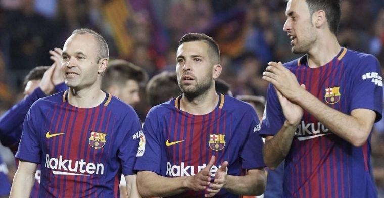 Sergio Busquets le pide al Barça un aumento salarial tras la salida de Iniesta