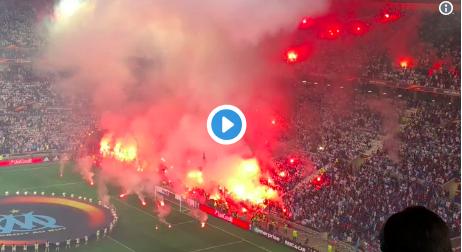 Het wordt een hete avond in de Europa League: Stadion in brand