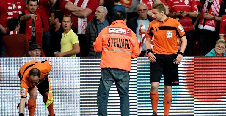'Standard komt heel goedkoop weg voor wijnglas-incident tegen Anderlecht'