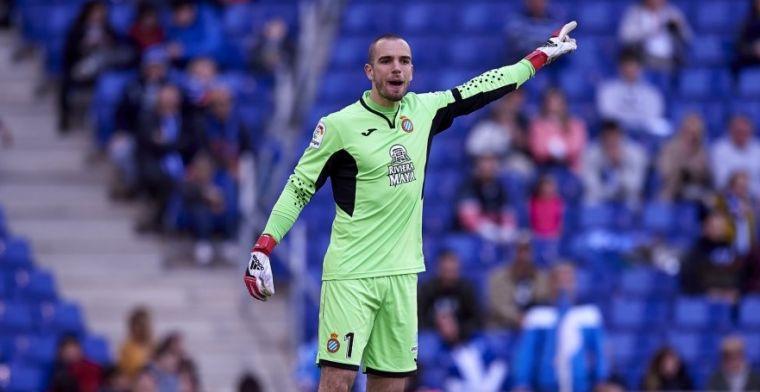 El RCD Espanyol despide a su guardameta Pau López