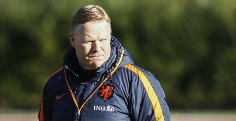 Koeman geeft Oranje-hint: Mogelijk weer één, twee of drie nieuwe spelers erbij