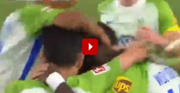 GENIETEN! Origi leidt derde Wolfsburg-goal in met geweldig voetenwerk