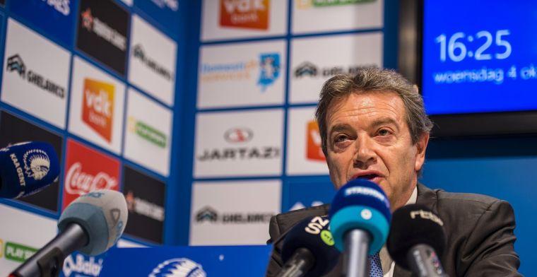 Onthuld: 'Daarom moest Thijs zijn kastje leegmaken bij AA Gent'