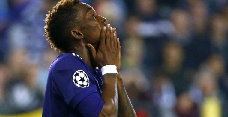 'Geen langer verblijf van Onyekuru bij Anderlecht omwille van Vanhaezebrouck'