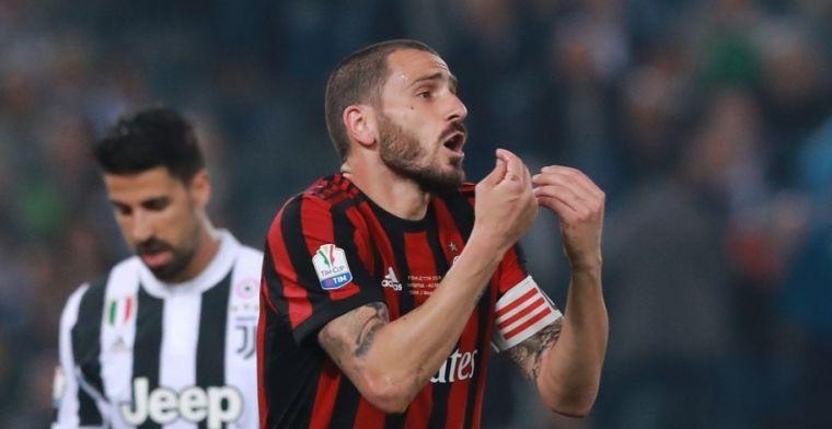 AC Milan-verdediger Bonucci kan terug naar absolute top