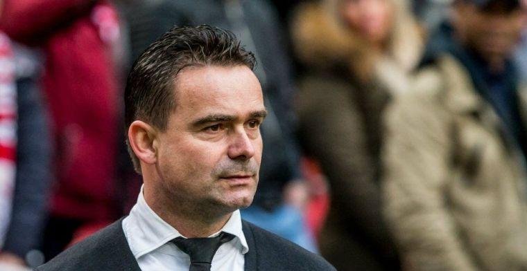 Overmars hoopt op oplossing voor Kluivert-conflict: 'Hij blijft een echte Ajacied'