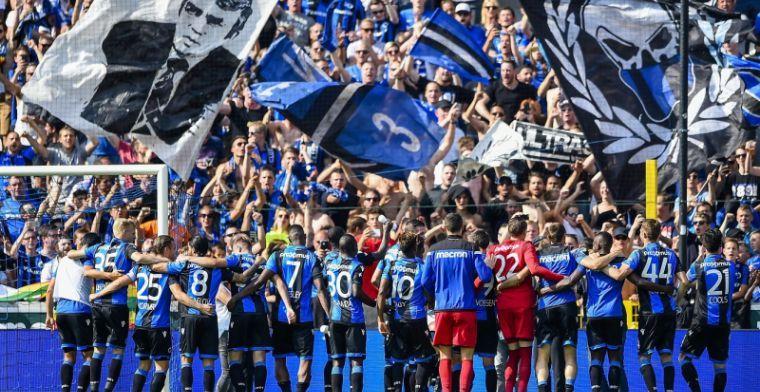 'Domper voor titelviering van Club; Gent niet akkoord met kampioenenhuldiging'