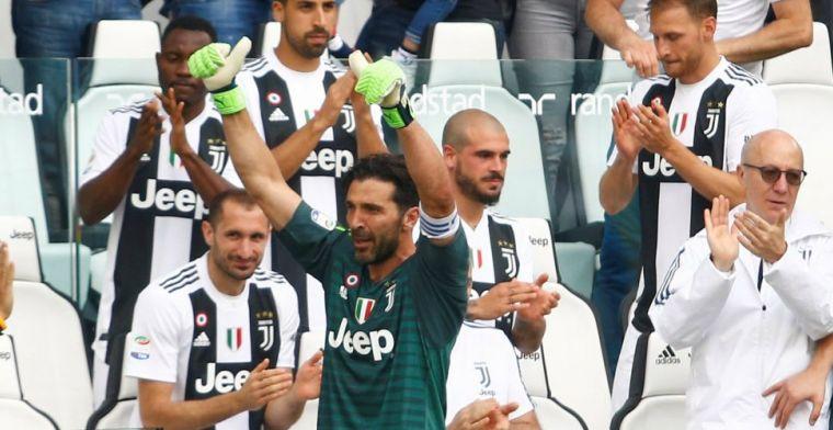 Publiekswissel én overwinning voor Buffon tijdens allerlaatste wedstrijd in Turijn