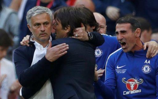 Afbeelding: Mourinho hekelt defensief Chelsea na verlies op Wembley: