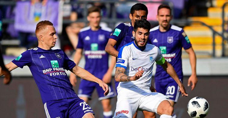 Anderlecht laat tweede plaats liggen na thuisnederlaag tegen Racing Genk