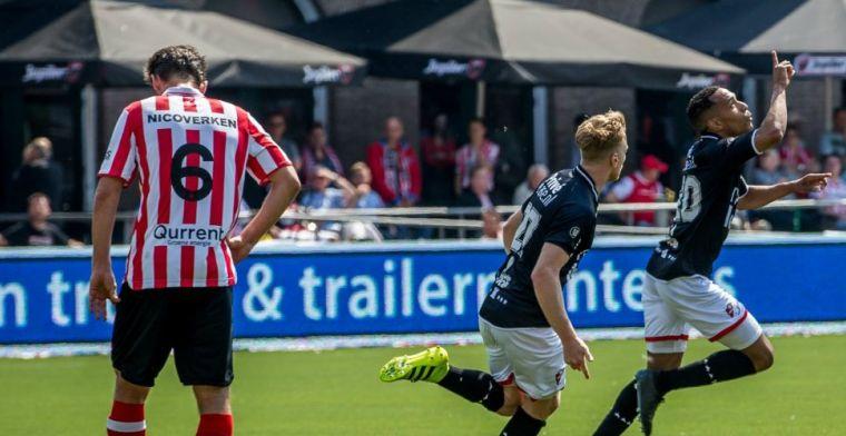 Shock in Rotterdam: Sparta verliest en degradeert, Emmen debuteert in Eredivisie